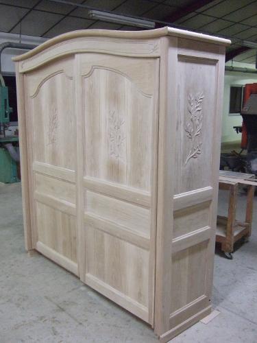 Fabricant d 39 armoires laqu es lescar pr s de pau dans le 64 ebenisterie - Armoire blanche laquee ...