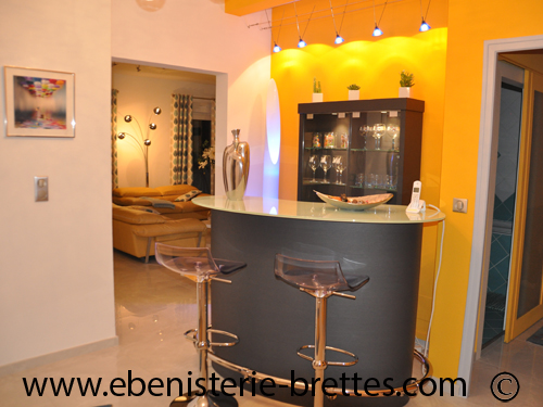 meuble bar contemporain sur mesure bordeaux