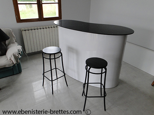 meuble de bar design sur mesure