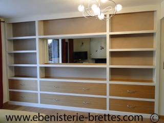 biblioth que design et de style st jean de luz au pays basque ebenisterie brettes. Black Bedroom Furniture Sets. Home Design Ideas
