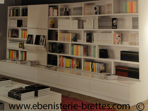 Emejing bibliotheques contemporaines pictures design trends 2017 - Bibliotheque contemporaine laquee design ...