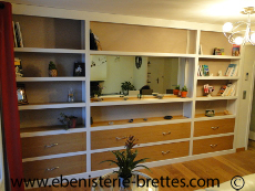bibliotheques contemporaines et de style au pays basque paris lyon suisse ebenisterie brettes. Black Bedroom Furniture Sets. Home Design Ideas