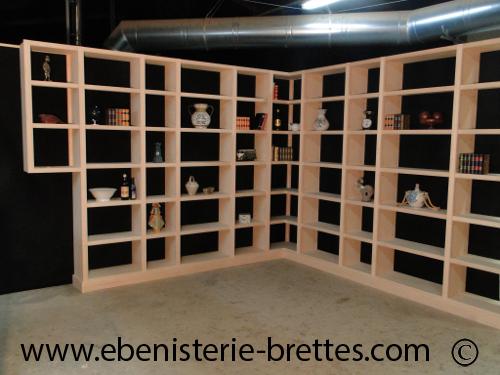 Bibliotheque moderne sur mesure à La Baule prés de Nantes en Pays ...