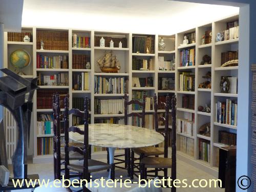 bibliotheque moderne sur mesure la baule pr s de nantes. Black Bedroom Furniture Sets. Home Design Ideas