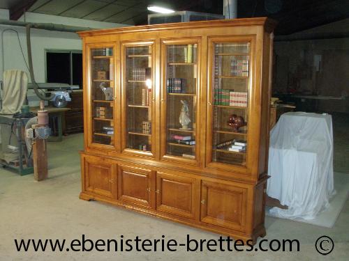 fabricant de biblioth que biarritz au pays basque ebenisterie brettes. Black Bedroom Furniture Sets. Home Design Ideas