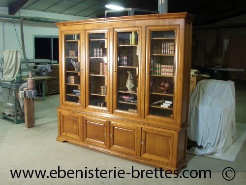 Fabricant de biblioth que biarritz au pays basque ebenisterie brettes - Ruimte stijl louis philippe ...