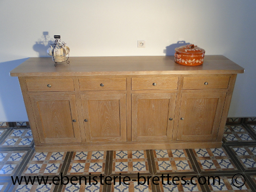 Eb niste fabriquant de buffet en ch ne pr s de dax et - Fabricant meuble chene massif belgique ...