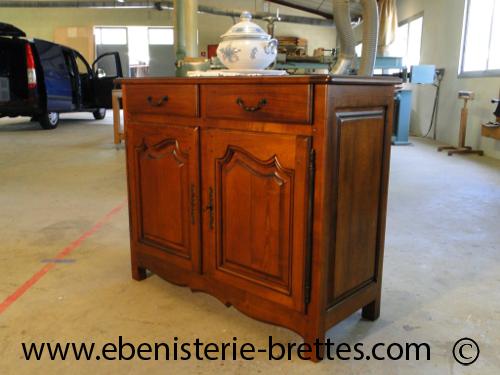 Creation de meubles sur mesure buffet style louis quinze - Meuble style louis 15 ...