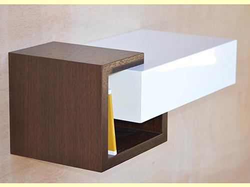 console d 39 entree rangement cl s laqu e et bois wenge. Black Bedroom Furniture Sets. Home Design Ideas
