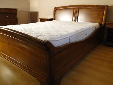 Lits et tetes de lit sur mesure dans toute la france ebenisterie brettes - Model de lit en bois massif ...