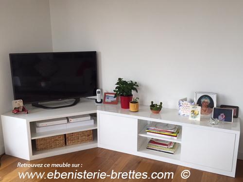 meuble ecran plat suisse ebenisterie