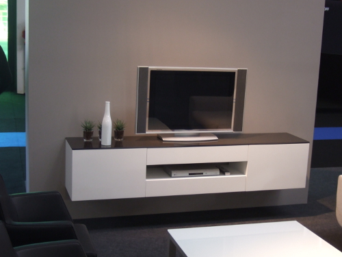 meuble suspendre tv - Meuble Tele Suspendu Design