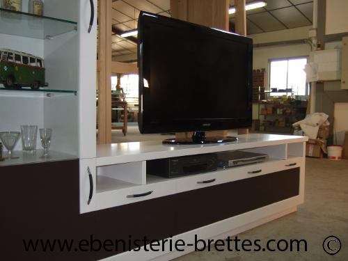 meubles-64-fabrication de meuble tv-meubles television moderne et ... - Meuble Tv Sur Mesure Design