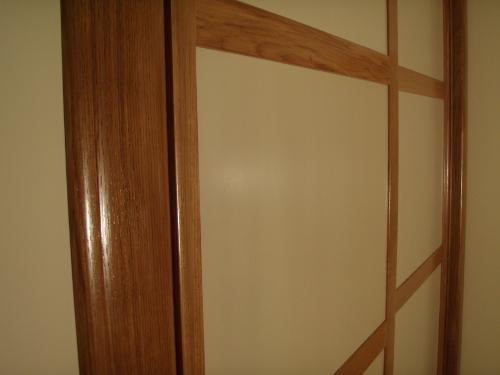 Fabrication placard haut de gamme feucherolles dans les - Porte placard bois massif ...
