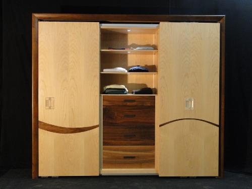 dressing armoire neuf en bois contemporain antibes sur. Black Bedroom Furniture Sets. Home Design Ideas