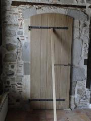 portes interieur bois sur mesure ebenisterie brettes. Black Bedroom Furniture Sets. Home Design Ideas