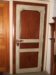 Meubles 64 fabrication de portes contemporaines et de style sur mesure landes - Porte peinte en deux couleurs ...