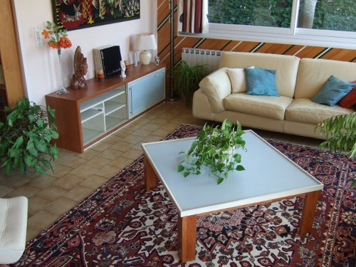 table de salon moderne laquée
