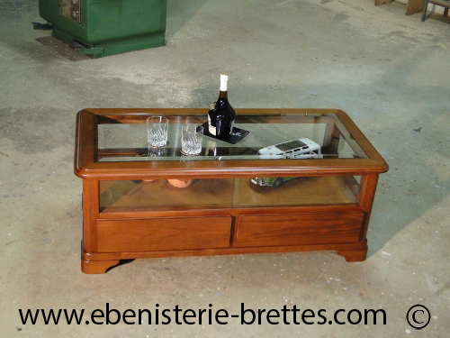 Table Basse Salon Merisier Louis Philippe – Phaichicom -> Table Basse Vintage Jimi
